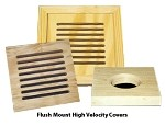 High Velocity Covers - Flush Mount